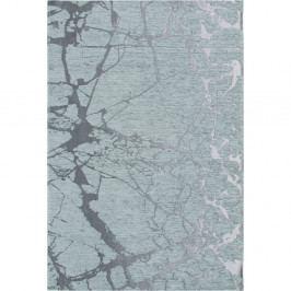 Světle modrý koberec Twigs, 80x150cm