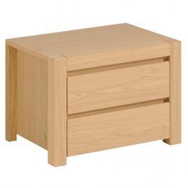 Noční stolek se 2 šuplíky Artemob West