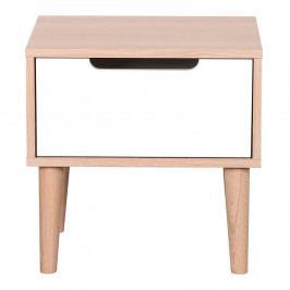 Noční stolek z dubového dřeva Artemob Barry