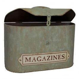 Zelený úložný box Antic Line Magazines