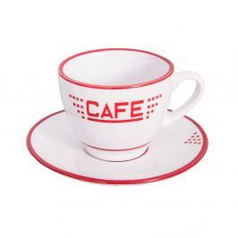 Bílý keramický hrnek Antic Line Café