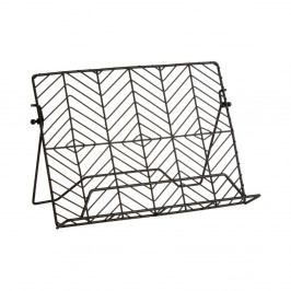 Železný stojan na knihy s recepty Premier Housewares, 16 x 30 cm