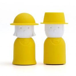 Žlutý set slánky a pepřenky Qualy&CO Mr.Pepper & Mrs. Salt