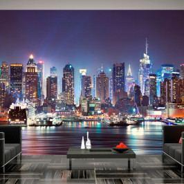Velkoformátová tapeta Artgeist Night In NY City, 350x245cm