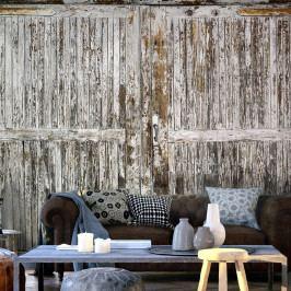 Velkoformátová tapeta Artgeist Shabby Wood, 350x245cm