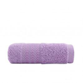 Fialový ručník z čisté bavlny Sunny, 30 x 50 cm