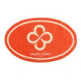 Oranžová koupelnová předložka Marie Claire, 66 x 107 cm