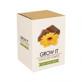 Pěstitelský set Gift Republic Chocolate Flowers