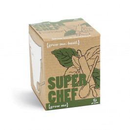 Pěstitelský set se semínky bazalky Gift Republic SuperChef