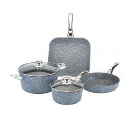 4dílný set nádobí s poklicemi Bisetti Pierre Gourmet Claudia