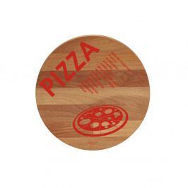 Prkénko z bukového dřeva Bisetti Pizza,30cm