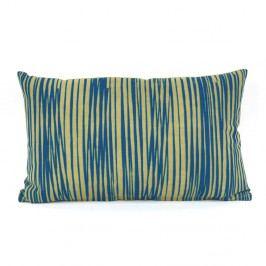 Modrý vzorovaný obdélníkový polštář s výplní PT LIVING Oblique
