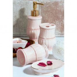 Set růžových koupelnových doplňků Orient