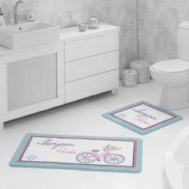 Sada 2 koupelnových předložek Bonjour