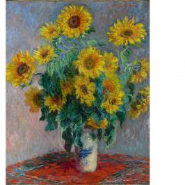 Obraz Claude Monet - Bouquet of Sunflowers , 50 x 40 cm