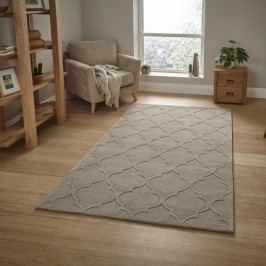 Béžový koberec Think Rugs Hong Kong , 150x230cm