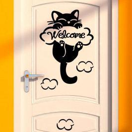 Samolepka Fanastick Cat, 10x10cm