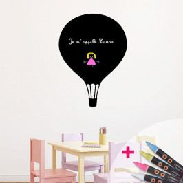 Tabulová samolepka se 4 tekutými křídami Fanastick Balloon