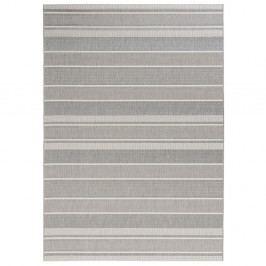 Šedý koberec vhodný do exteriéru Bougari Strap, 120x170cm