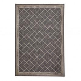 Tmavě šedý koberec Think Rugs Cottage, 160 x 220 cm