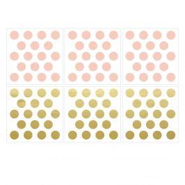 Nástěnná samolepka Dekornik Gold Dots