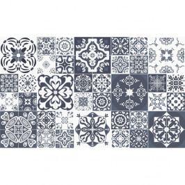 Sada 60 dekorativních samolepek na stěnu Ambiance Tanoura Simple, 10 x 10 cm