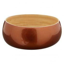Bambusová miska v barvě růžového zlata Premier Housewares, ⌀ 20 cm