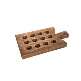 Tác na 12 vajíček z jedlového dřeva Antic Line