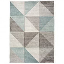 Modrošedý koberec Universal Retudo Naia, 160x230cm