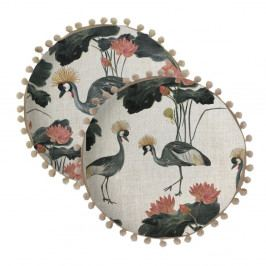 Oboustranný polštář Madre Selva Florey y Gruas, ⌀ 45 cm
