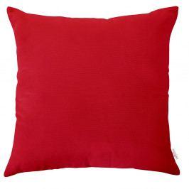 Červený povlak na polštář Apolena, 43x43cm