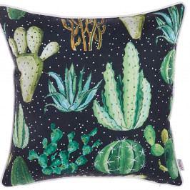 Povlak na polštář Apolena Dark Cactus, 43x43cm