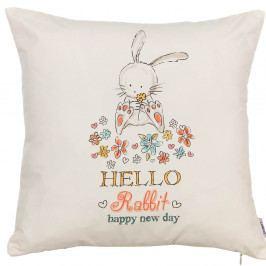 Povlak na polštář Apolena Rabbit, 43 x 43 cm