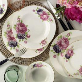 24dílná sada porcelánového nádobí Kutahya Summer
