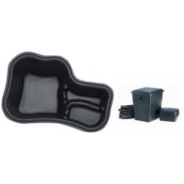 Pontec Set plastové jezírko 150 l s filtračním setem