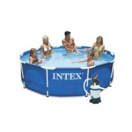 Bazén INTEX Metal Frame 3,66 x 0,76m písková filtrace 2m3/hod