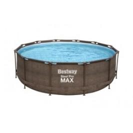Bazén Bestway Rattan s konstrukcí 3,66 x 1,00 m písková filtrace 2m3/hod