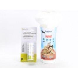 IX. Základní set na chlorové ošetření vody pro bazeny do 68m3 (Triplex tablety PLOVÁK 1400 g, tester)