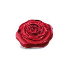 INTEX 58783 Nafukovací lehátko rudá růže