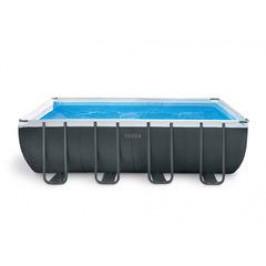 Bazén INTEX Rectangular Ultra Frame XTR 5,49 x 2,74 x 1,32m set + písková filtrace 4m3/hod