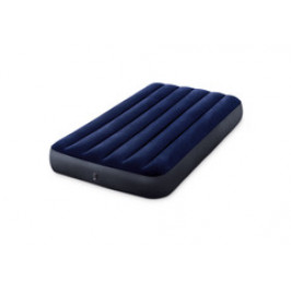 INTEX 64757 Nafukovací postel Classic Downy Blue Dura-Beam Serie Twin