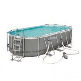 Bazén Bestway s konstrukcí 5,49 x 2,74 x 1,22m kartušová filtrace