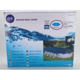 GRE Krycí plachta na bazén 5,0 x 3,0m