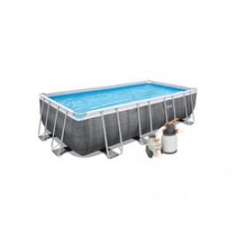 Bazén Bestway Rattan s konstrukcí 5,49 x 2,74 x 1,22m set + písková filtrace 5,6m3
