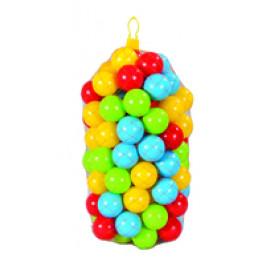 Plastové míčky 9 cm - 100 ks