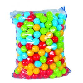 Plastové míčky 7 cm - 500 ks