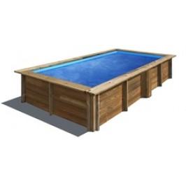 Bazén GRE Nature Wood Lemon 3,75 x 2,00 x 0,68m set s kartušovou filtrací 2m3/h