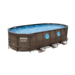 Bazén Bestway Rattan Swim Vista s konstrukcí 5,49 x 2,74 x 1,22m set