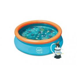 Bazén Swing pool 3D 3,05 x 0,76m písková filtrace 2m3/hod