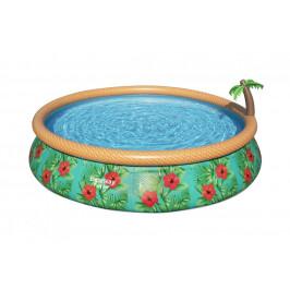 Bazén Bestway Paradise Palms 4,57 x 0,84m písková filtrace 4m3/hod